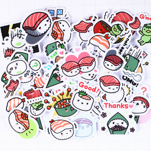 40pcs/pack Sushi Stickers