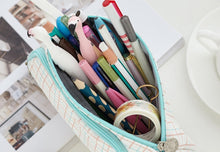 Load image into Gallery viewer, Canvas Kawaii Pencil Case - Large Capacity!