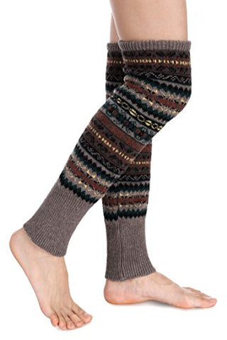 Avidlove Women Knee High Socks Winter Bohemian Boot Cuffs Knit Crochet Leg Warmers