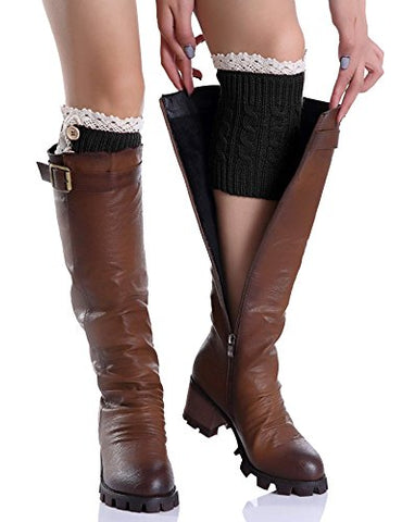 Avidlove Women Winter Leg Warmer Crochet Knit Boot Socks