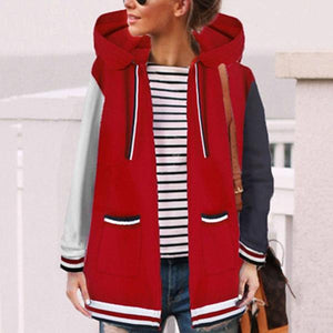 Fashion Casual Matching Hat Hoodie Coat
