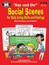 Super Duper® Social Scenes for Daily Living Book