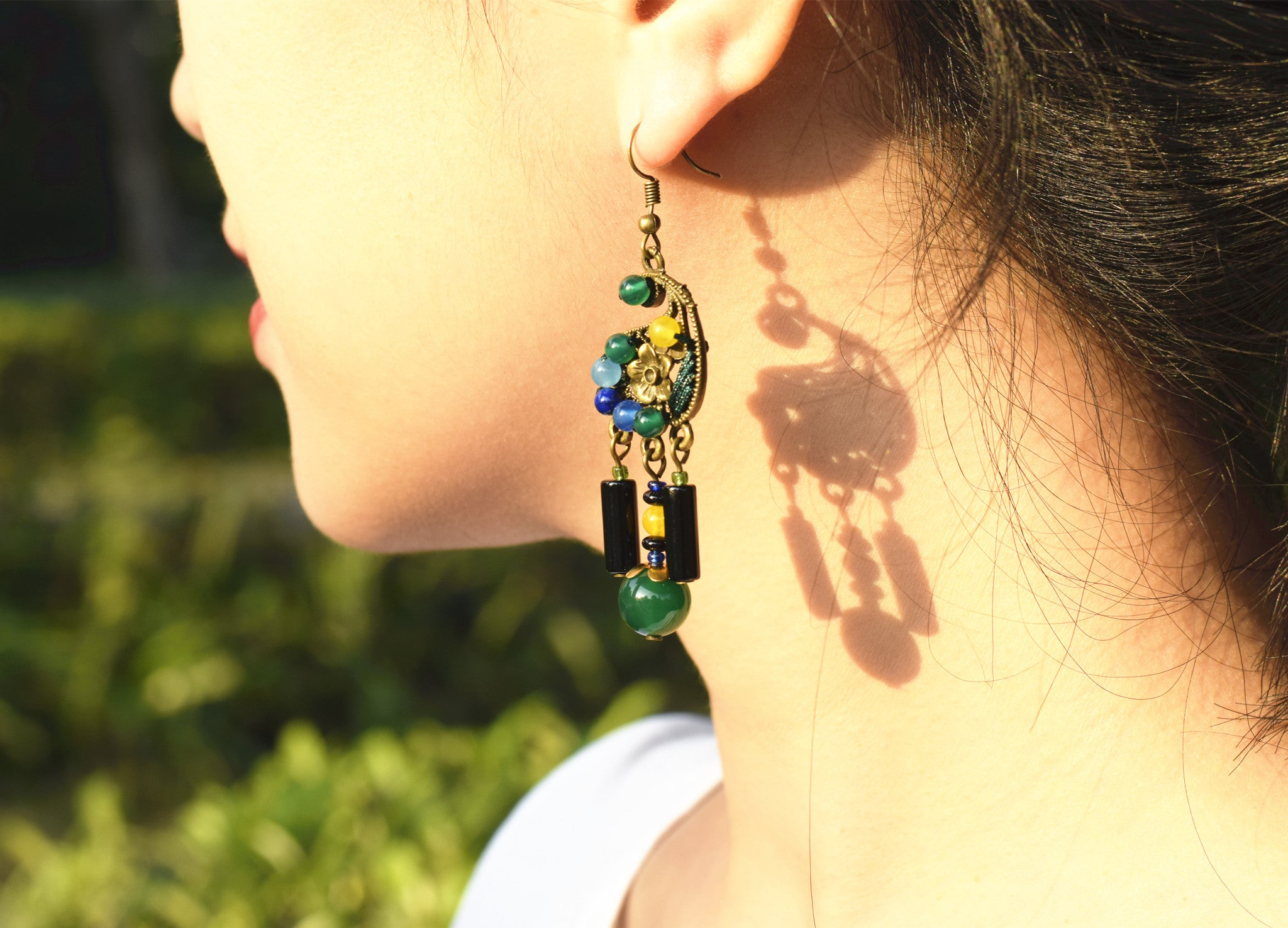 OneMe Feather Power Earrings