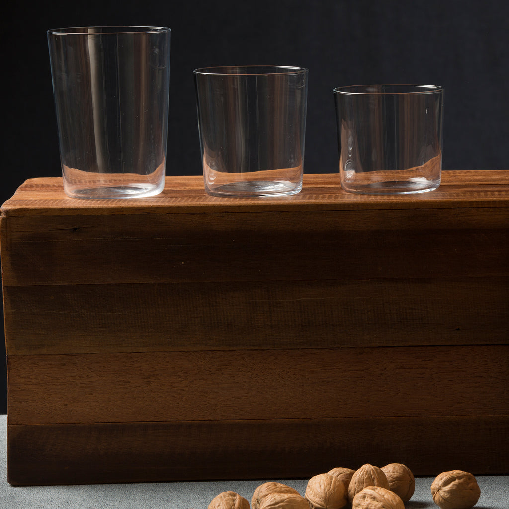 Gio Smooth & Clear Glassware