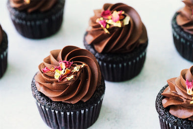 Decadent Dark Chocolate Cupcakes