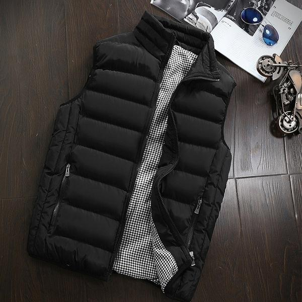 2019 Men's Casual Winter Warm Vest Coat