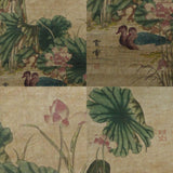 GA051 100% HAND PAINTED FLOWER BIRD CHINESE TRADITIONAL  INK SCROLL PAINTING
