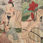 GA160 100% HAND PAINTED FIGURE CHINESE TRADITIONAL INK SCROLL PAINTING