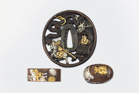 TFK012 OUT MOUTAIN TSUBA FUCHI KASHIRA