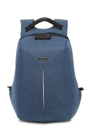 "Anti-Theft Backpack for 13"" Laptop with Integrated USB Charging Port"