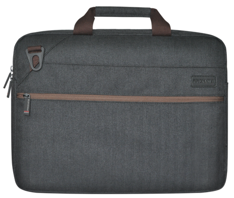 Contemporary Design Messenger Bag for Laptops Up to 16""