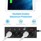 PowerStrip-4EU Black