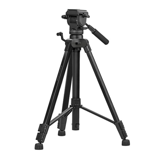 Professional Aluminum Tripod with 3-Way Precession Head