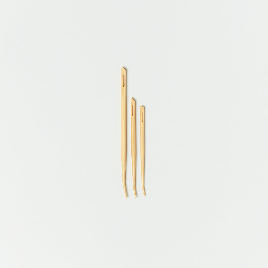 Curved Bamboo Tapestry Needle