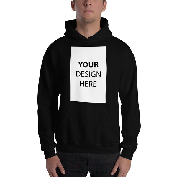 Black / S Customize your Hooded Sweatshirt Kadance Shop