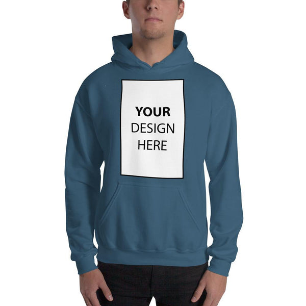 Indigo Blue / S Customize your Hooded Sweatshirt Kadance Shop