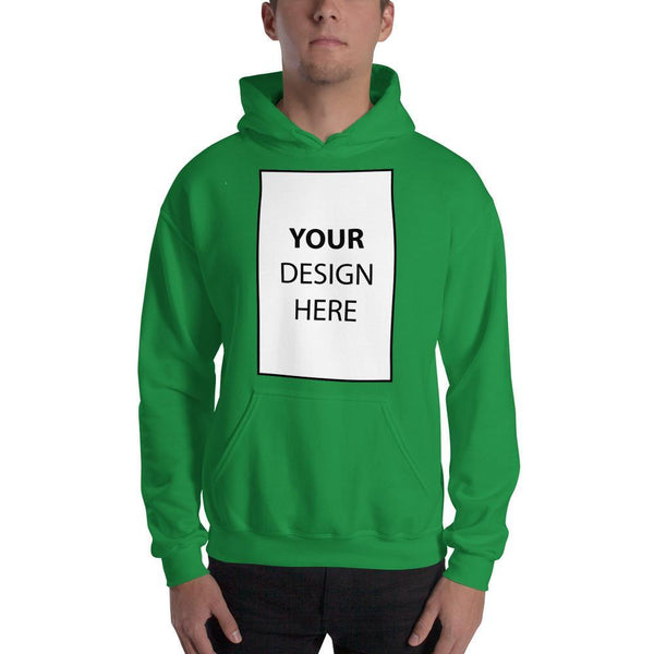 Irish Green / S Customize your Hooded Sweatshirt Kadance Shop