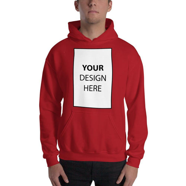 Red / S Customize your Hooded Sweatshirt Kadance Shop