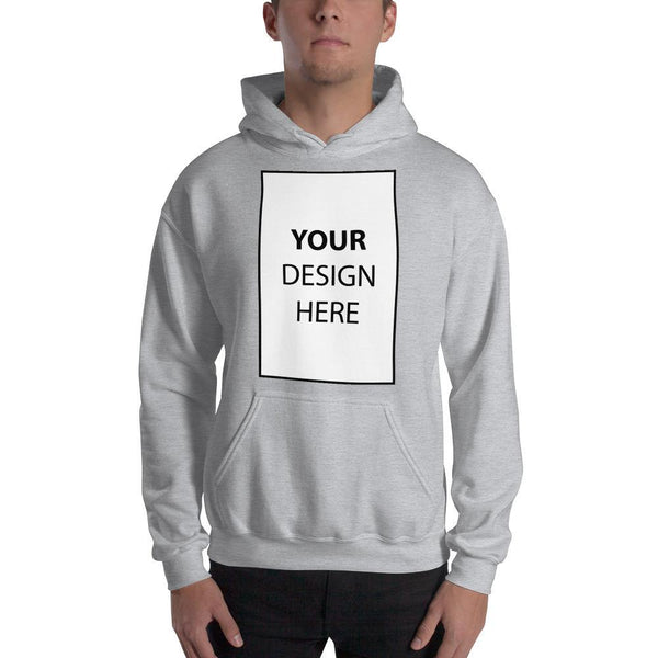 Sport Grey / S Customize your Hooded Sweatshirt Kadance Shop