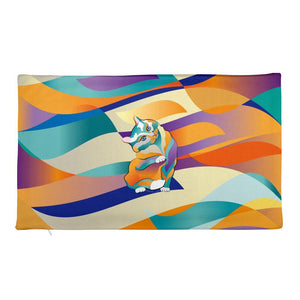 20×12 Percival Cat | Premium Pillowcase only Kadance Shop