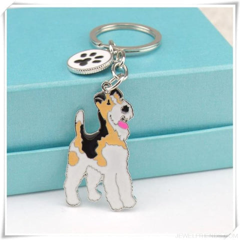 Cartoonish Dog Breed Keychains - 04 - Custom Made | Free Shipping