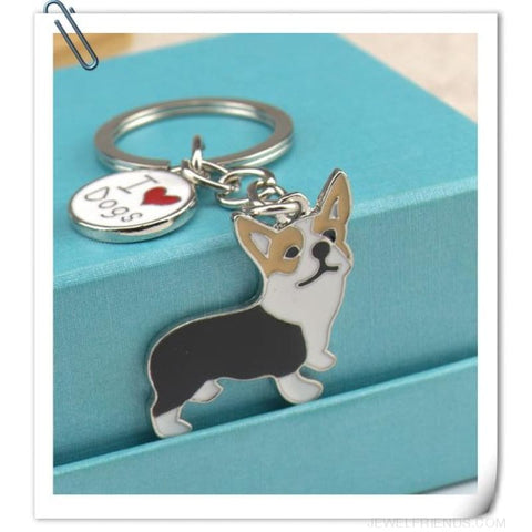 Cartoonish Dog Breed Keychains - 06 - Custom Made | Free Shipping