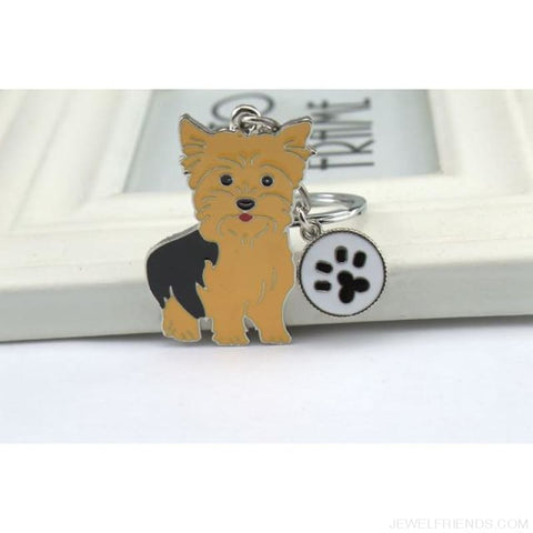 Cartoonish Dog Breed Keychains - 10 - Custom Made | Free Shipping