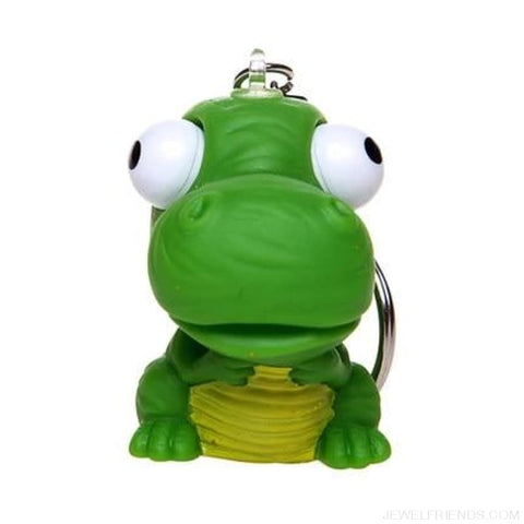 Funny Spoof Tricky Stress Ball Keychains - Dinosaur - Custom Made | Free Shipping