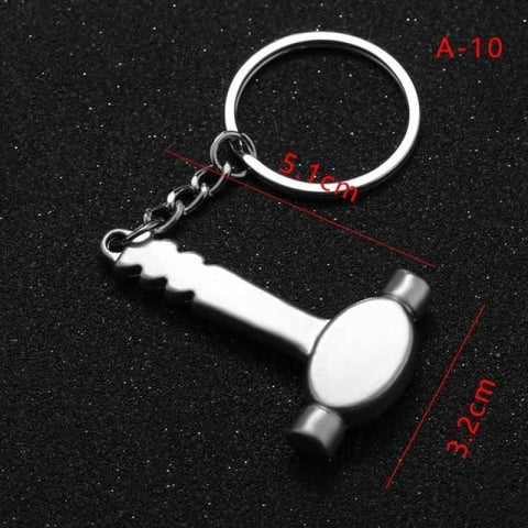Mini Creative Wrench Spanner Key Chain - 10 - Custom Made | Free Shipping