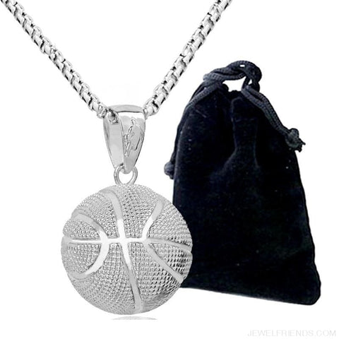 Sport Basketball Pendant Necklace - Custom Made | Free Shipping
