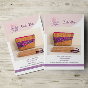 Cork Duo Paper Sewing Pattern  Paper Pattern free sewing patterns - Lorelei Jayne
