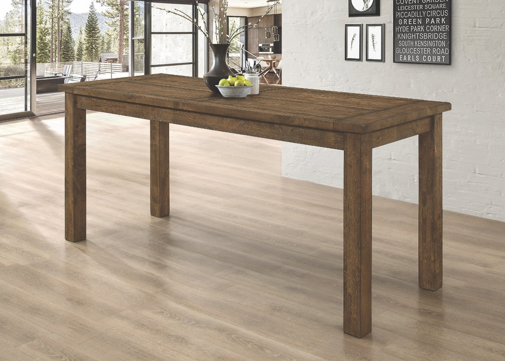 Cole Rustic Golden Brown Counter Height Dining Collection