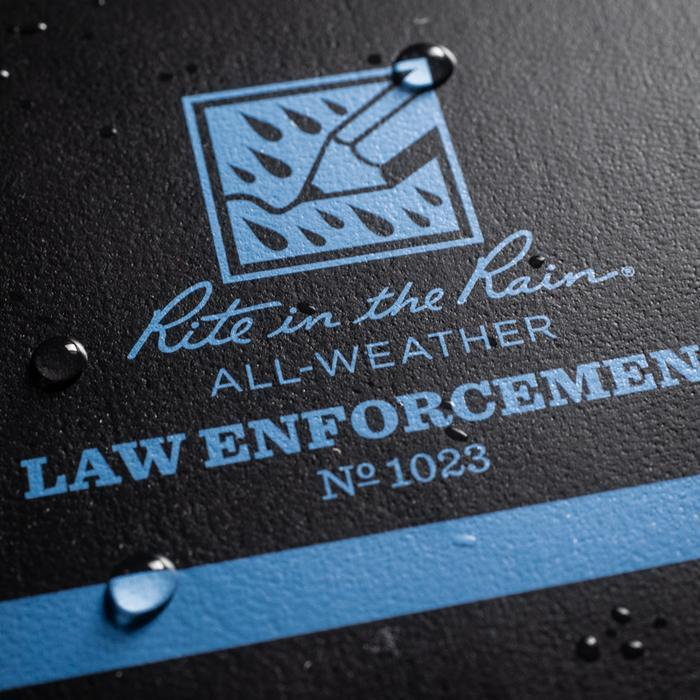 Rite In The Rain Thin Blue Line All-Weather Notebook