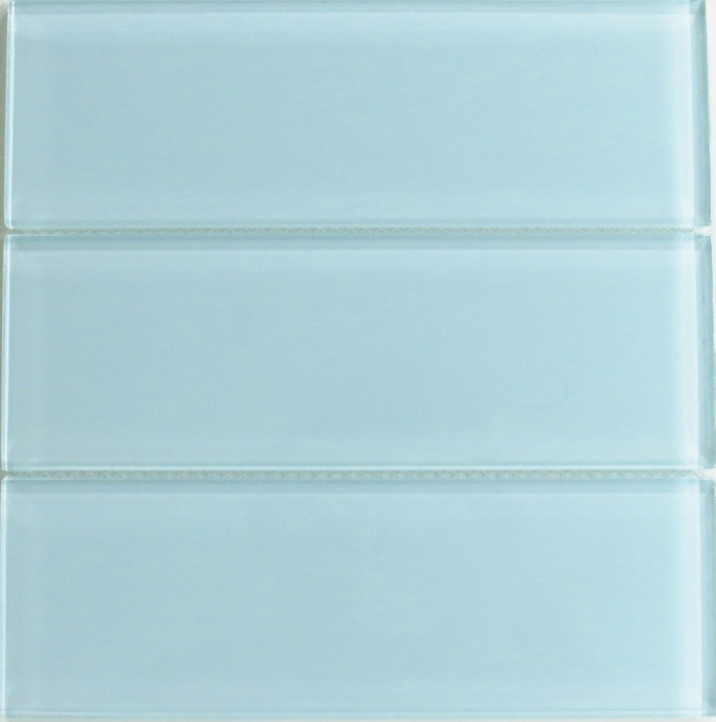 Modwalls Lush Glass Subway Tile | Vapor 4x12 | Modern tile for backsplashes, kitchens, bathrooms, showers