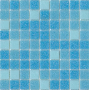 Modwalls Brio Glass Mosaic Tile | Morningside Blend | Modern tile for backsplashes, kitchens, bathrooms, showers, pools, outdoor and floors