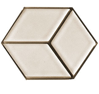 Sample of Clayhaus Mosaic Diamond Ceramic Tile