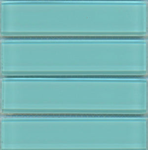 Sample Lush Glass Subway Tile |  Breaker 1x4