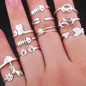 Animal Ring Set