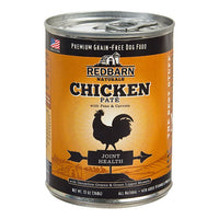 Redbarn Naturals Chicken Pate Joint Health Grain-Free Canned Dog Food, 13-oz
