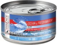 Essence Wet Cat Food Ocean & Freshwater Recipe 5.5 oz Can