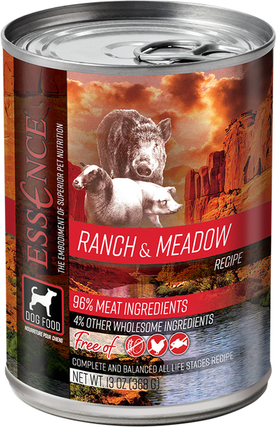 Essence Wet Dog Food Ranch & Meadow 13 oz Can