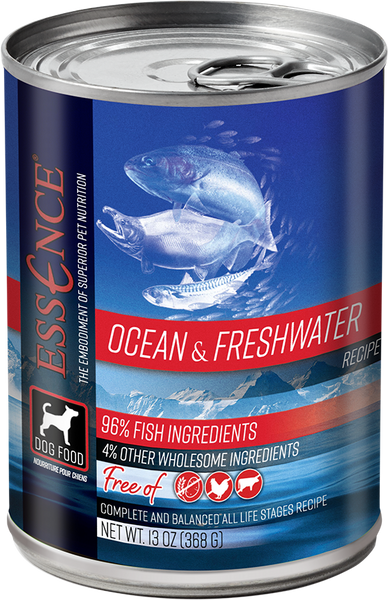 Essence Wet Dog Food Ocean & Freshwater 13 oz Can