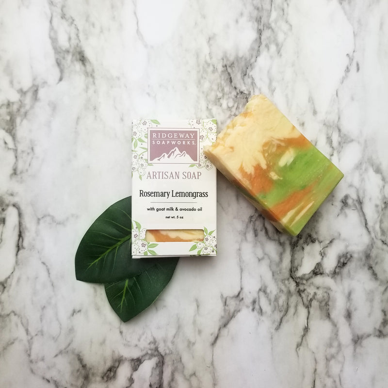 Rosemary Lemongrass Soap