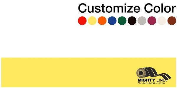 "Customized - 3"" Repeating Message Floor Tape - 1 Roll"