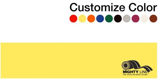 "Customized - 4"" Repeating Message Floor Tape - 1 Roll"