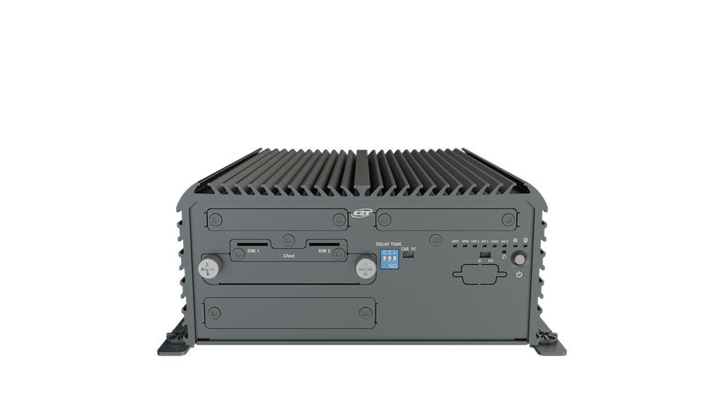 RCO-3211 Advanced Fanless System with Intel® Pentium® Processor N4200, 2x LAN & 1x PCIe/PCI Expansion