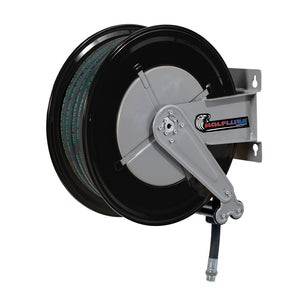 Wolflube Automatic Hose Reel for Oil- 1/2in - 100 ft Hose