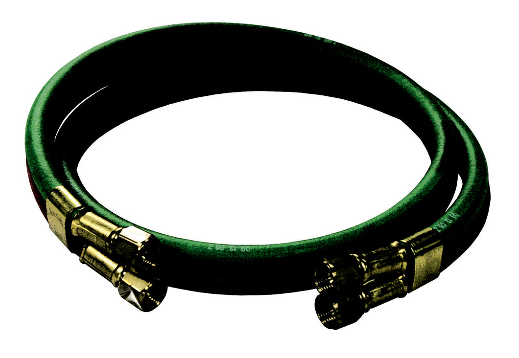 REELCRAFT S600100-4 1/4 dual x 4, 200psi, 9/16-18 LH/RH (F), Inlet Welding RM-Grade Hose Assembly