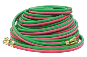 REELCRAFT 601032-60 1/4 dual x 60, 200 psi, 9/16-18 LH/RH (F), Welding RM-Grade Hose Assembly