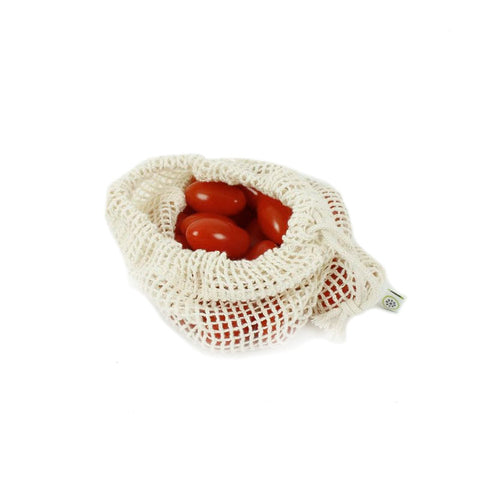 Cotton Mesh Produce Bag - Small